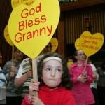 God bless Granny - photo courtesy of Catholiccga